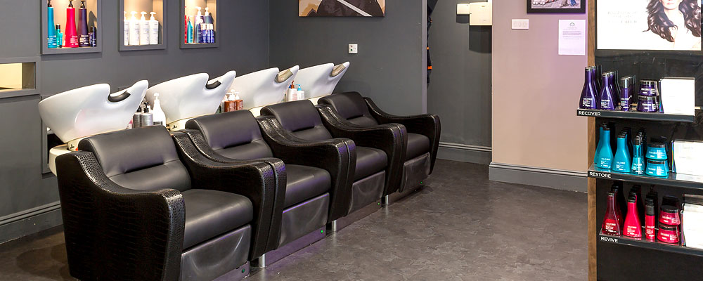 Inside Beyond the Fringe Eltham hairdressing salon